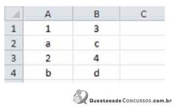 Questões resolvidas e comentadas de Excel (parte 4)