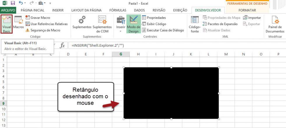 Como inserir um GIF no Excel