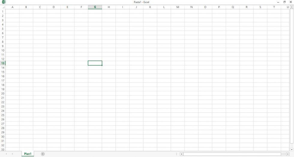 Como deixar o Excel em tela cheia?