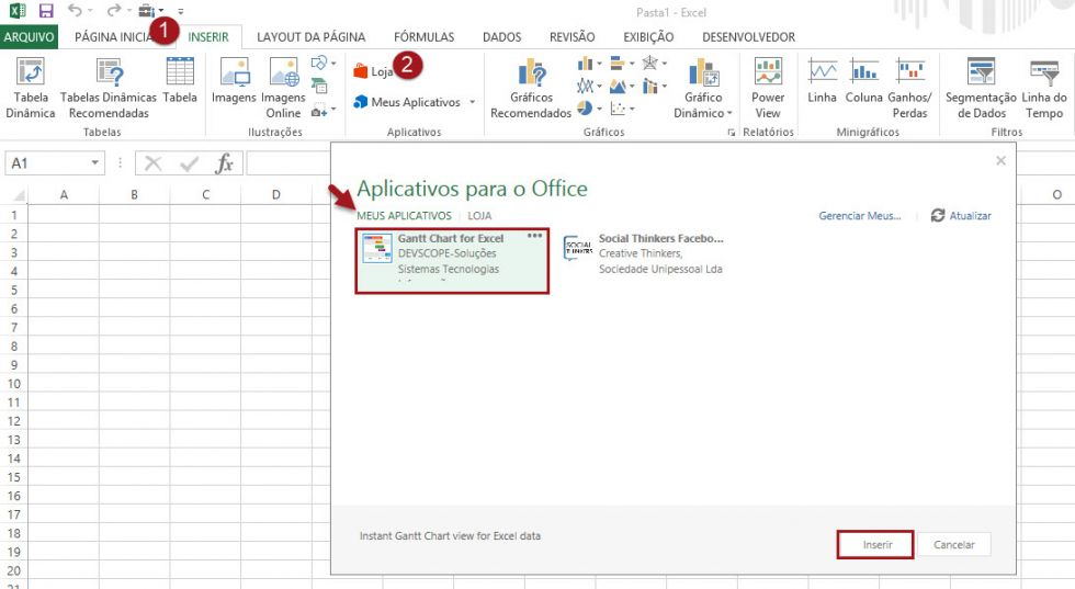 Como criar um gráfico de Gantt no Excel