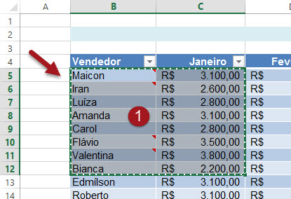 Inserindo uma planilha do Excel no PowerPoint ou Word