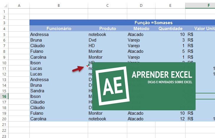 Como inserir imagem em comentário do Excel