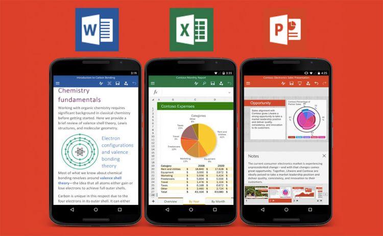 Microsoft libera o Office para smartphones Android