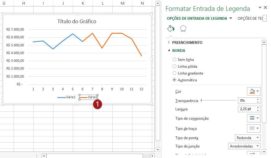 Como criar um gráfico com linha de previsão no Excel