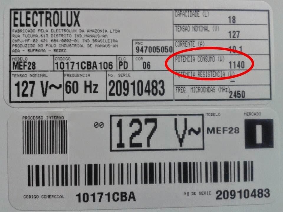 Planilha para cálculo de consumo elétrico e valor da conta de luz no Excel 5.0
