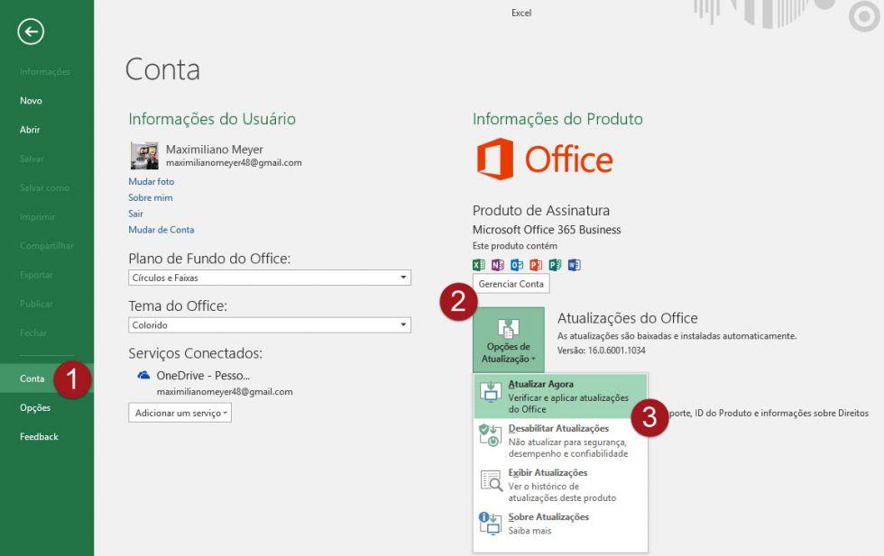 Incompatibilidade - Excel 2016 não abre planilhas antigas