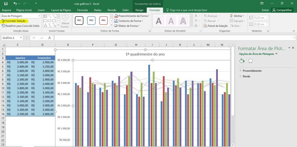 Como criar gráficos no Excel (Aula 3)