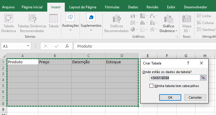 Dicas para melhorar o design de uma tabela