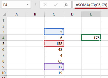 Operadores de Interseção no Excel