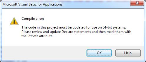 Problemas de incompatibilidade entre Office 32 e 64 bits