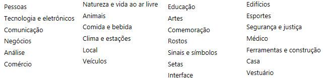 Excel agora possui ícones nativos (novidades 2017)