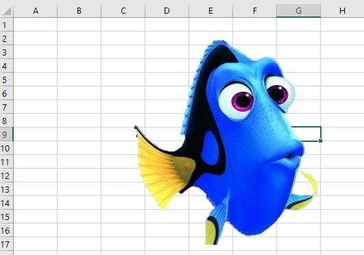 Como remover o fundo de uma imagem no Excel