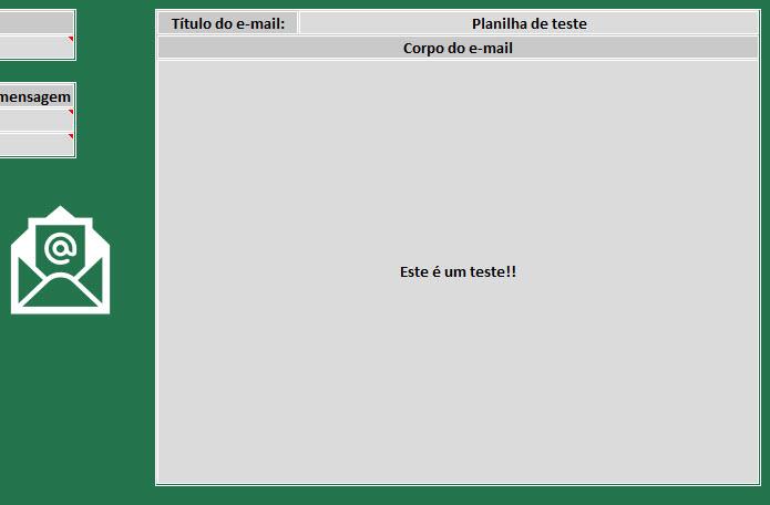 Planilha de mailing (envio de e-mails em massa) 4.0