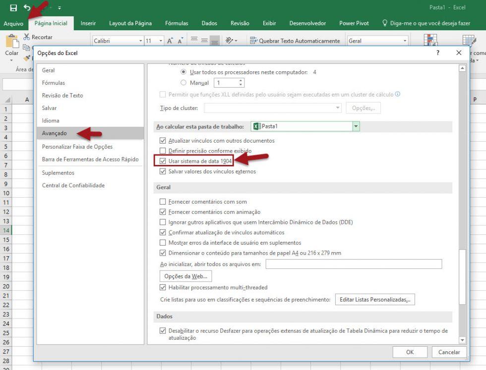 Como calcular horas trabalhadas no Excel