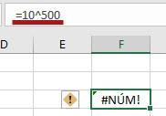 Como resolver o erro #NÚM! no Excel