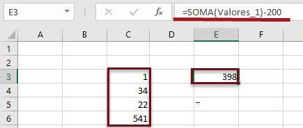 Como trabalhar com Nomes e seu Gerenciador no Excel