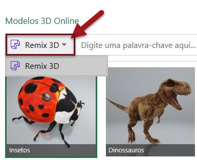 Como inserir e trabalhar com modelos 3D no Excel