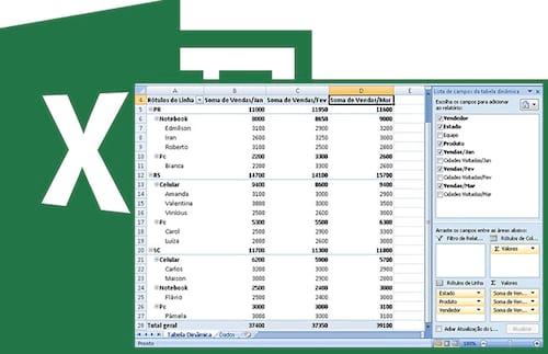 Como criar uma Tabela Dinâmica no Excel