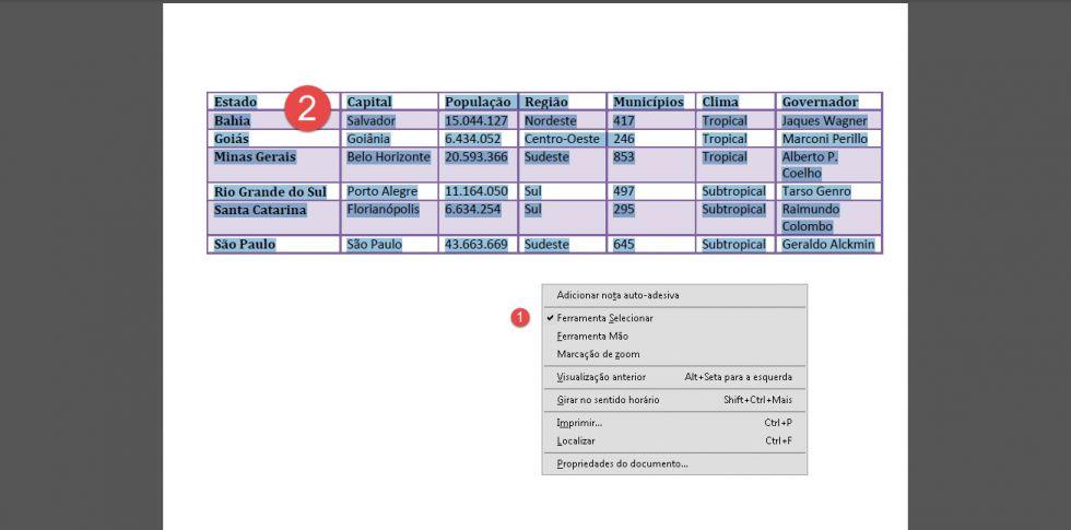 Passando dados do Pdf para Excel sem perder a formatação