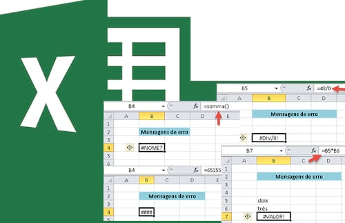 Mensagens de Erro no Excel