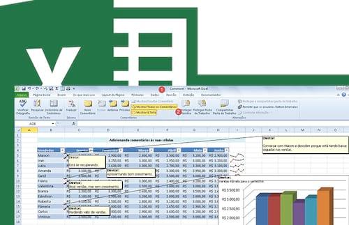 Como inserir e editar comentários no Excel