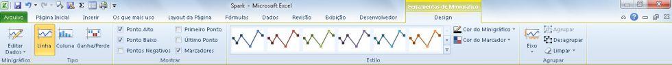 Aplicando Temas e Estilos aos seus projetos no Excel