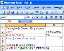 Como fazer validação de dados no Excel