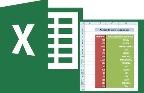 Função =Romano no Excel
