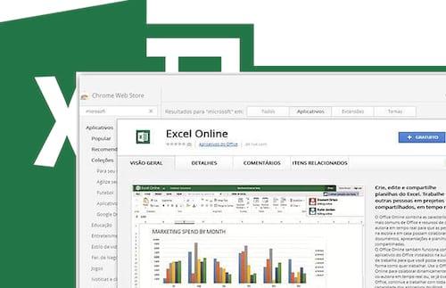 Chrome Web Store passa a oferecer aplicativos gratuitos do Microsoft Office