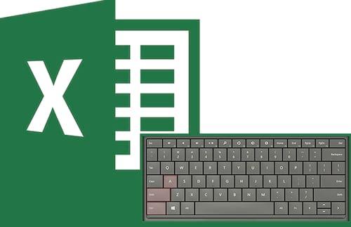 Atalhos do Excel mais cobrados em provas de concurso