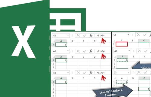 Diferenças entre Ctrl + C e Ctrl + X no Excel