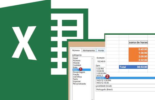 Como trabalhar com Horas no Excel