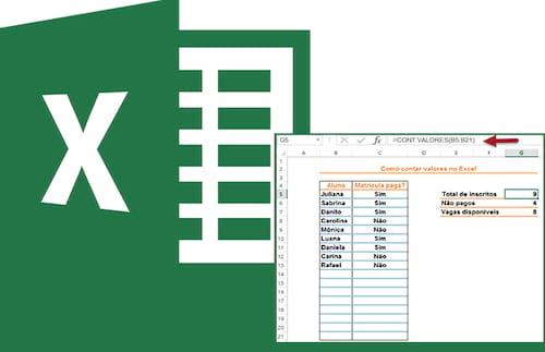 As diversas maneiras de contar no Excel