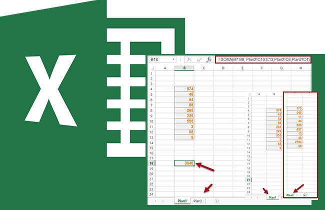 Como trabalhar dados de pastas e/ou planilhas diferentes no Excel