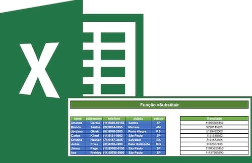 Como remover ou substituir caracteres específicos no Excel (=Substituir)