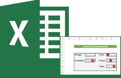 Como fazer o Excel alternar entre células pré-determinadas automaticamente