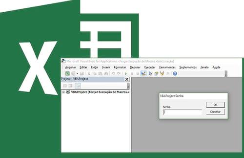 Bloqueando as VBAs e macros com senha no Excel