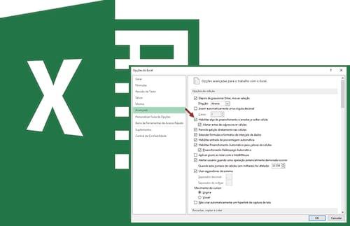 Alça de preenchimento do Excel sumiu, e agora?
