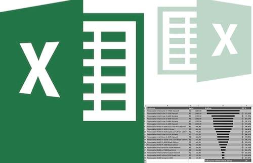 Como criar um gráfico funil no Excel