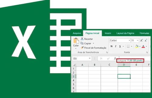 Alterando a unidade de medida no Excel
