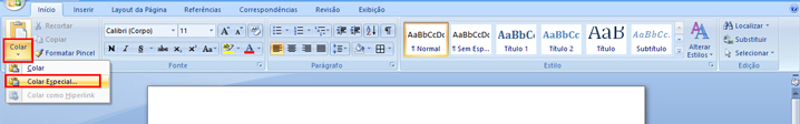 Como adicionar uma planilha do Excel dentro do Word