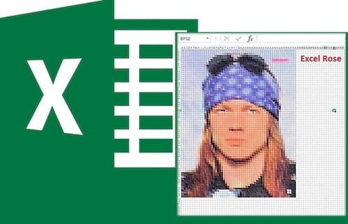 É possível desenhar no Excel?