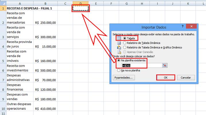 Como unir planilhas no Excel