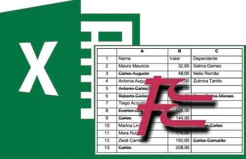 10 questões resolvidas e comentadas da FCC de Excel