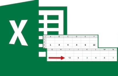 Invertendo a seleção de valores no Excel