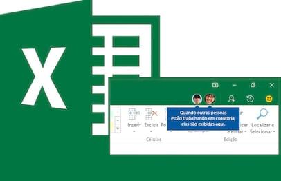 Utilizando a edição compartilhada no Excel
