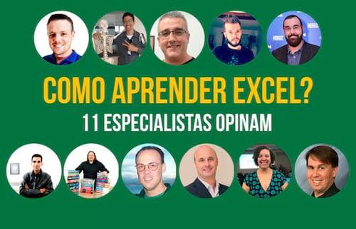 Dicas dos maiores especialistas de Excel do Brasil