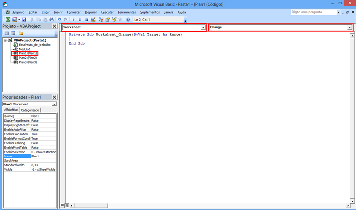 Como usar uma VBA no Excel