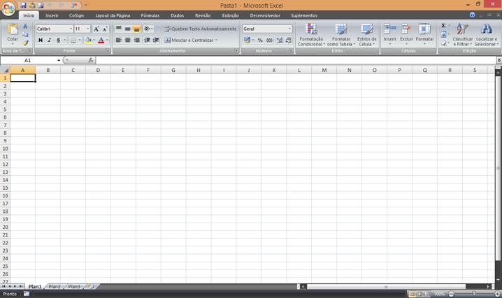 Como mudar a cor de fundo no Excel?