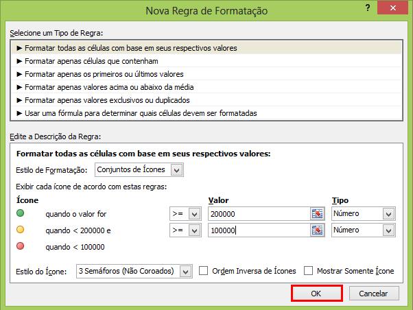 Como fazer formatação condicional no Excel (parte final)